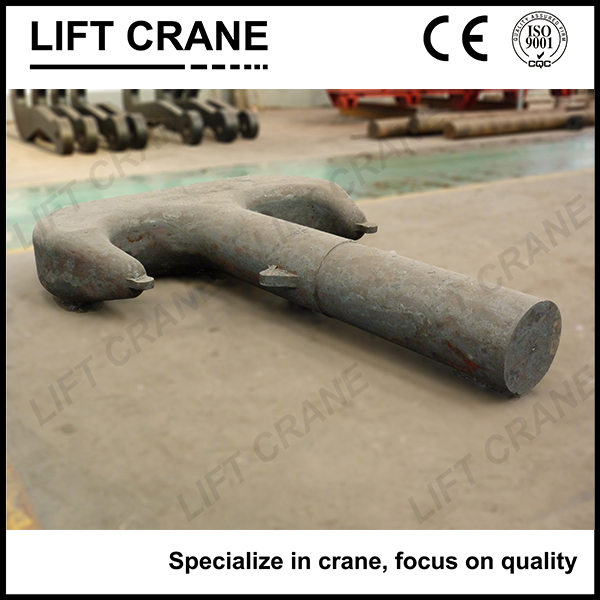 200t RT & UT crack detection Lifting Hook used for large lifting capacity crane