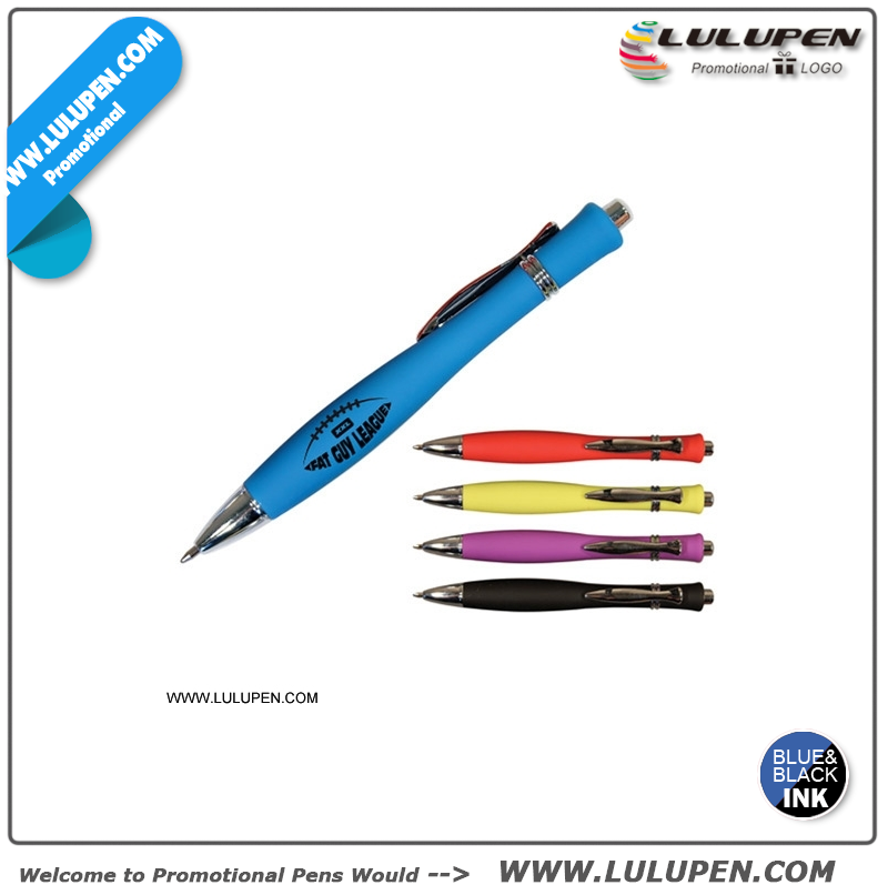 Hourglass Soft Touch Pen (Lu-8601)