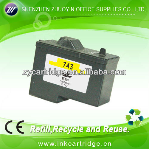 New price for Dell ink cartridge D7Y743,compatible inks.