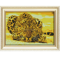 Russian package handmade mosaic picture diy diamond painting with wooden frame