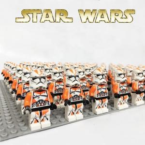 Star Clone trooper Wars sw522 212th Battalion Trooper 75036 Compatible legoe Building Blocks kid mini toy figure