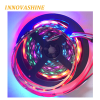5m WS2811 3 pin flexible dream color pixel 12v 5050 programmable addressable rgb led strip digital