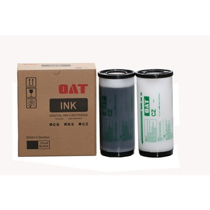 Compatible 800ml color CZ CV Ink for risos CZ180, CV3230 digital duplicator