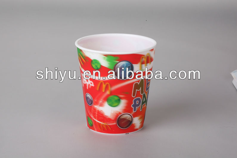 270ml 3D promotional cups