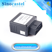 Auto OBD gps tracker driving black box with speed alarm built own platform cheap price good quality