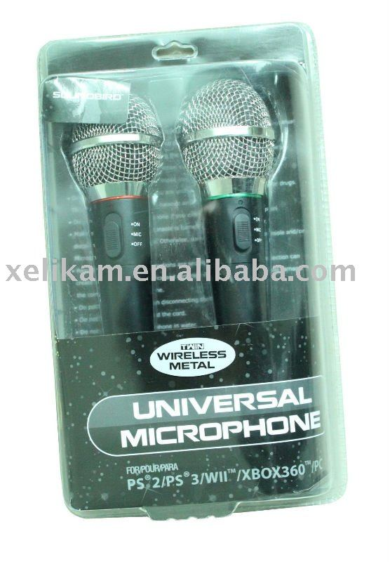 For Wii 5 in 1 Wired Karaoke Microphone for Nintendo Microphone