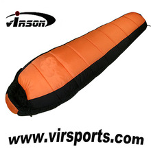 winter warmth ultraight portable camping outdoor twin sleeping bag
