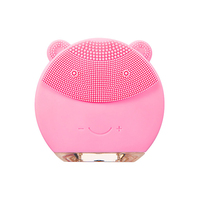 Mini USB Rechargeable Ultrasonic Silicone Facial Cleansing Brush Sonic Cleaner Beauty Massager