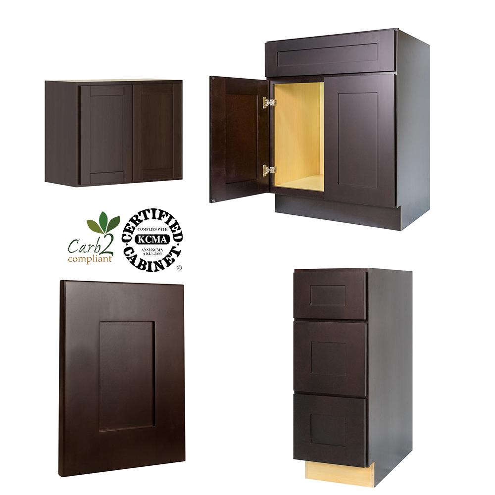 Espresso Shaker Kitchen Cabinets, Espresso Shaker Kitchen Cabinets ...