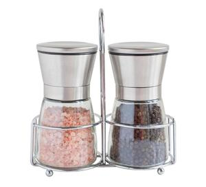 Gift set salt and pepper grinder, spice grinder, pepper grinder