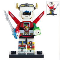 Anime movie Figure Ultraman voltron Mazinger Z Alien Predator Building Blocks mini toys juguetes