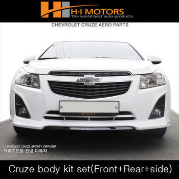 Chevrolet Cruze Body Kit Set(front Lip,Side Skirt,Rea Diffuser ...