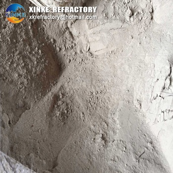 low iron acid resistant silica refractory castable mortar for cement low iron