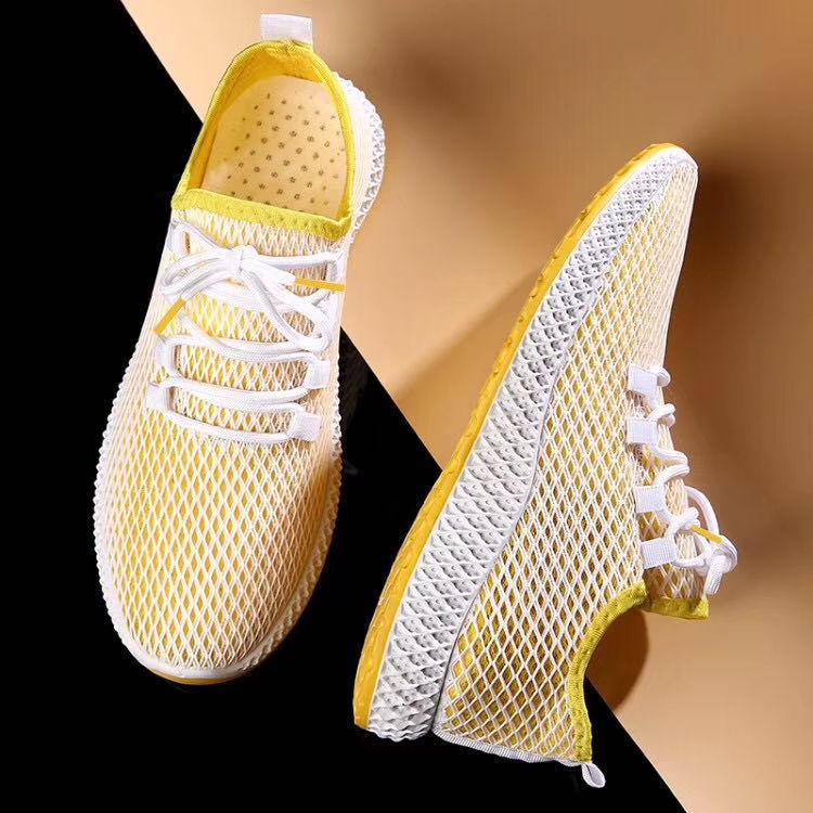 2019Walking shoes mesh breathable men shoes sneaker  new design man model