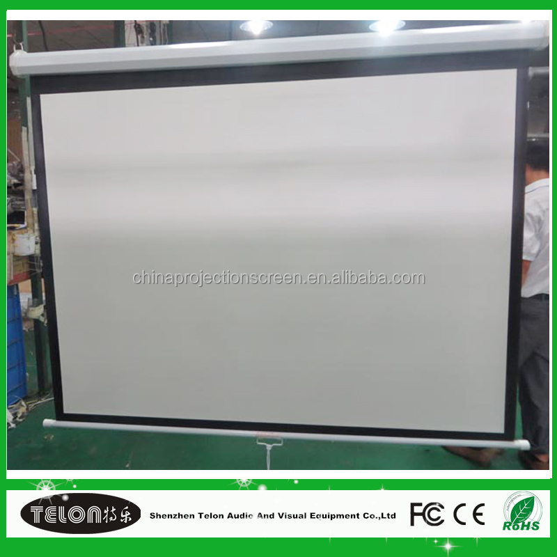 2016 New design spring for manual projector screen With Good Service