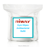 Gym Wipes Antibacterial Refill