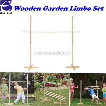 2016 Ningbo Kids Wooden Limbo Garden Game Set Games Of Desire