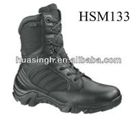 DH,male commando patrol duty sport side zip military tactical boots BATES