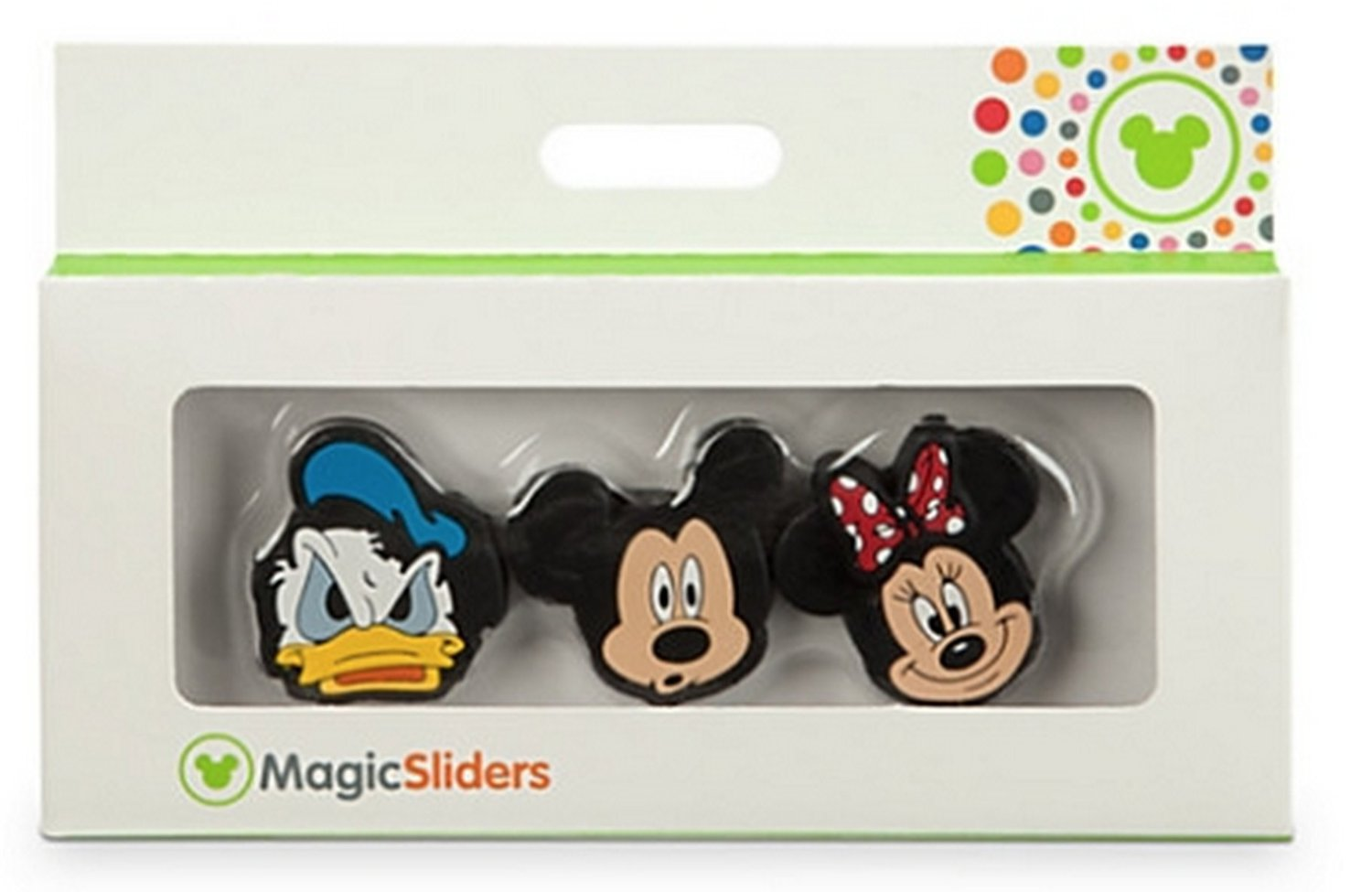 Disney Parks Magic Band - Magic Sliders: Mickey Mouse Minnie Mouse Donald