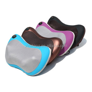 Vibrating Heated Car Seat Back Massage Cushion,the Massager On The Seat