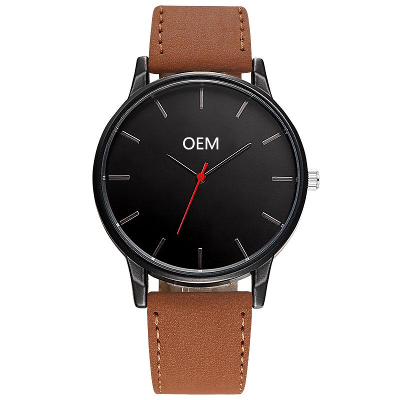 Custom Made Wrist Watches Men OEM Mens Design Watch Japan Movement Custom Your Logo Personalized Cheap Watch