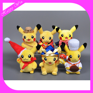popular plush pokemon cartoon,small pokemon character toys,pokemon plush for sale