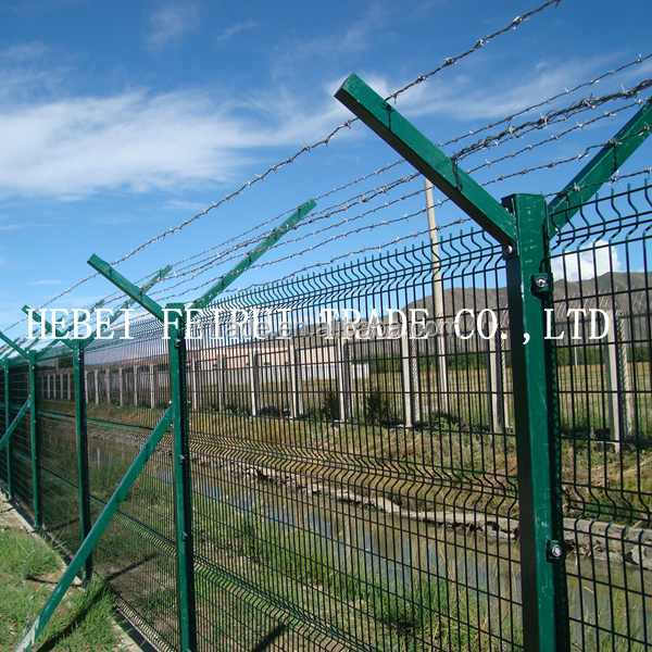 3d Security Fencing Fixed By Invisible Bolts - Buy 3d Welded Wire ...