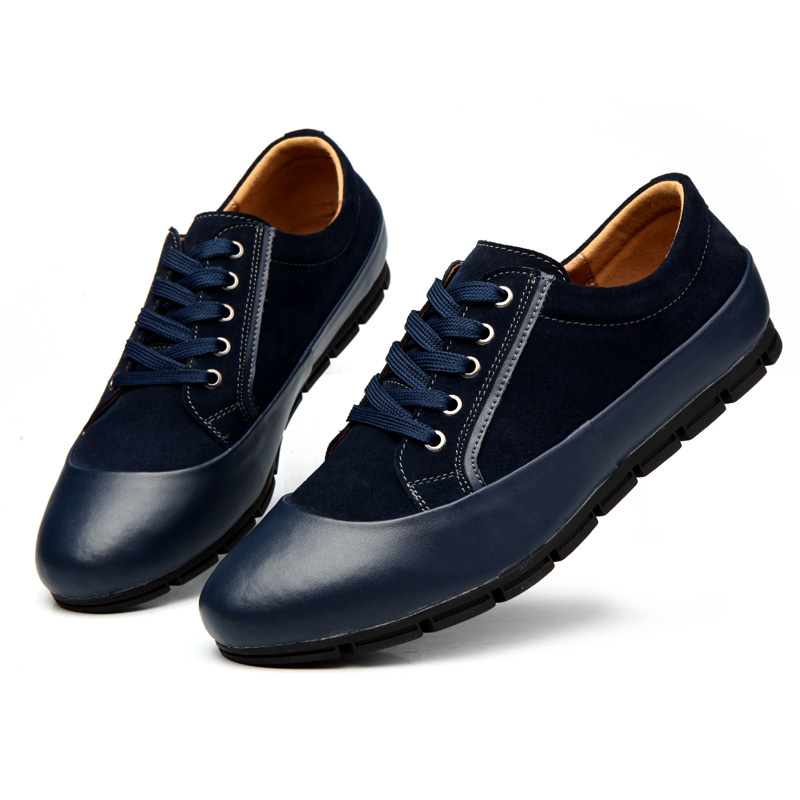 HAOX High Quality Men's Top Genuine Leather Shoes 2015 New Fashion Casual Shoes Designer Flats For Men XGX-8811