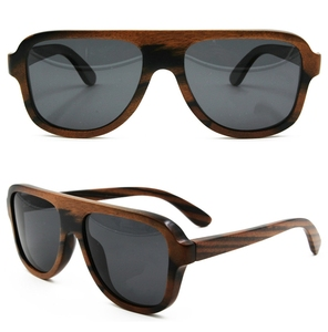 Low cost high quality 100% natural handmade custom ready stock wood sunglasses
