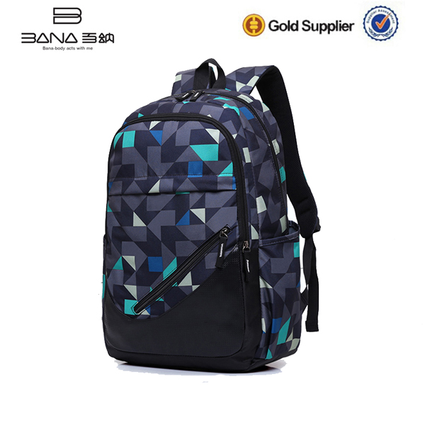 High Quality Leisure Trendy Oxford Backpack Bag School Outdoor