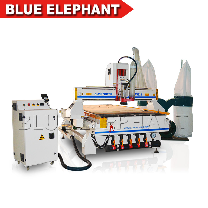 4x8 Ft Cnc Router 1325 Wood Carving Machine for Wooden Doors, Sculpture, Cabinets, Soft Metal