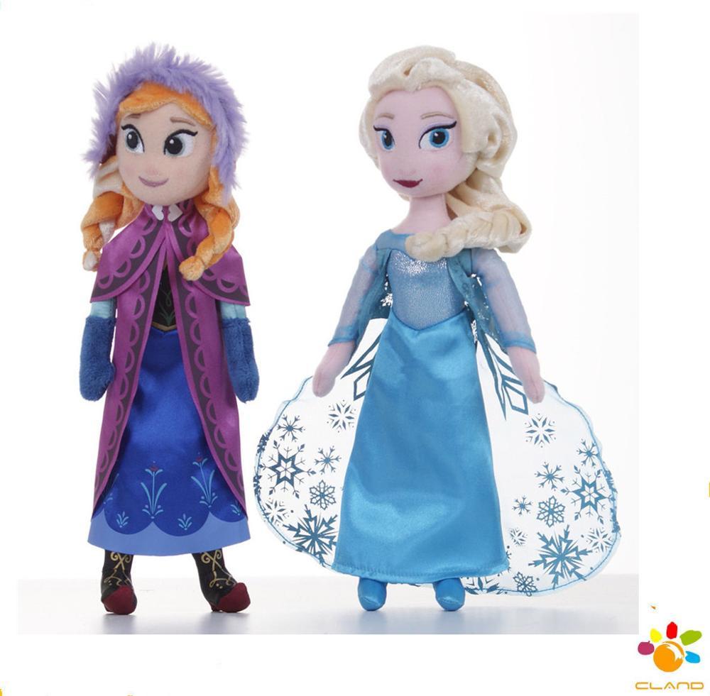 Hard-Working Disney Princess 50 Cm Anna Frozen Plush Cuddly Toy Girls New No Tags Elsa Film C Dolls & Bears Fashion, Character, Play Dolls