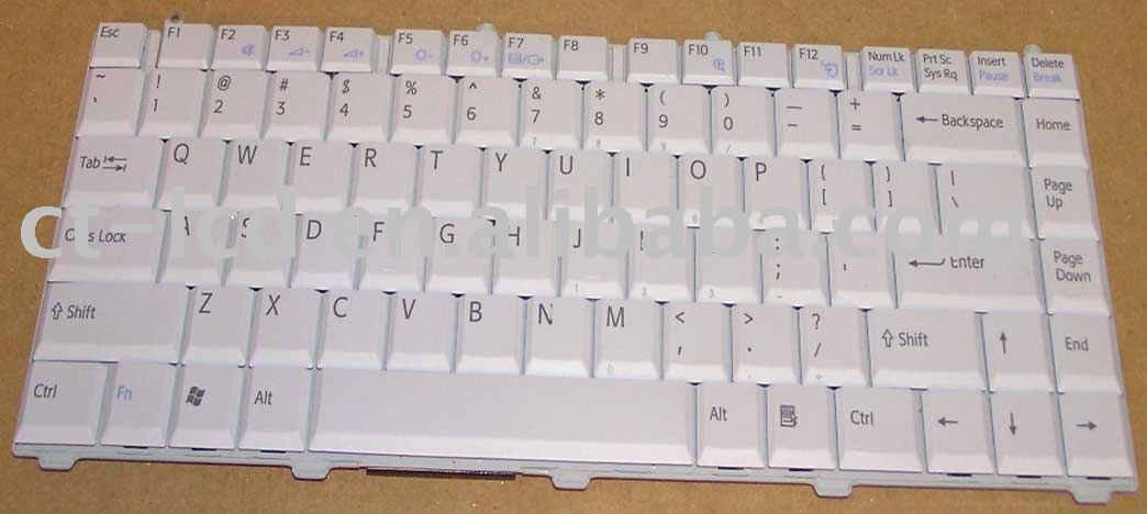 clavier d 39 ordinateur portable pour vaio fs clavier id de produit 212505366. Black Bedroom Furniture Sets. Home Design Ideas
