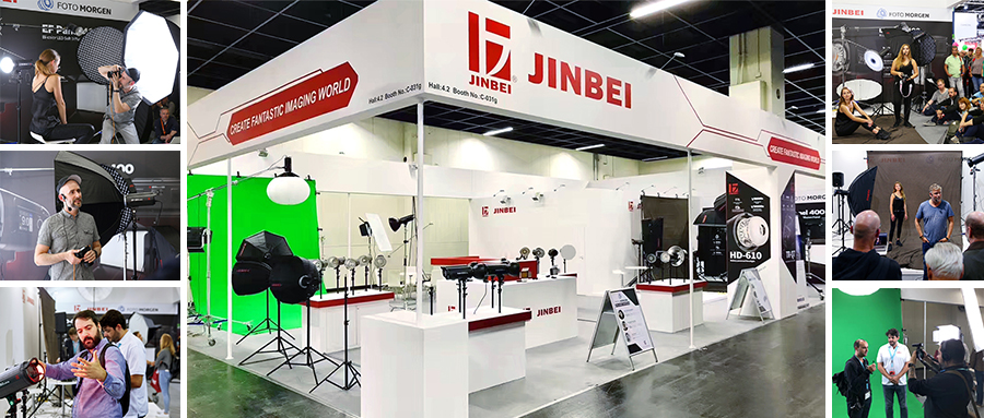 JINBEI MZ-3000FP 9.84ft / 300cm Aluminium Air-cushion Stand with Reversible head for Strobe Light Studio Photo Photography