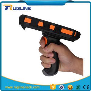 4G LTE Android 5.1 OS Handheld Portable hand-held metal detector with RFID reader