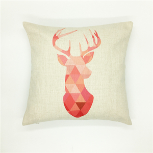 Low MOQ customized digital print cushion cover decorative your room