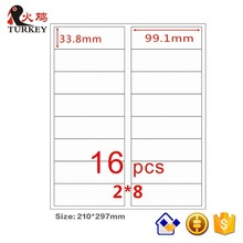 50 x TK GL-18 A4 Mailing Address Labels sheets Laser InkJet Printer 4 labels per page 99.1 mm x 33.8 mm