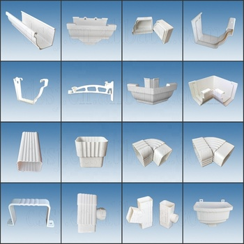 Half Round Pvc Water Collector Buy Pvc Water Collector Round Gutter Circular Wanter Collector Product On Alibaba Com