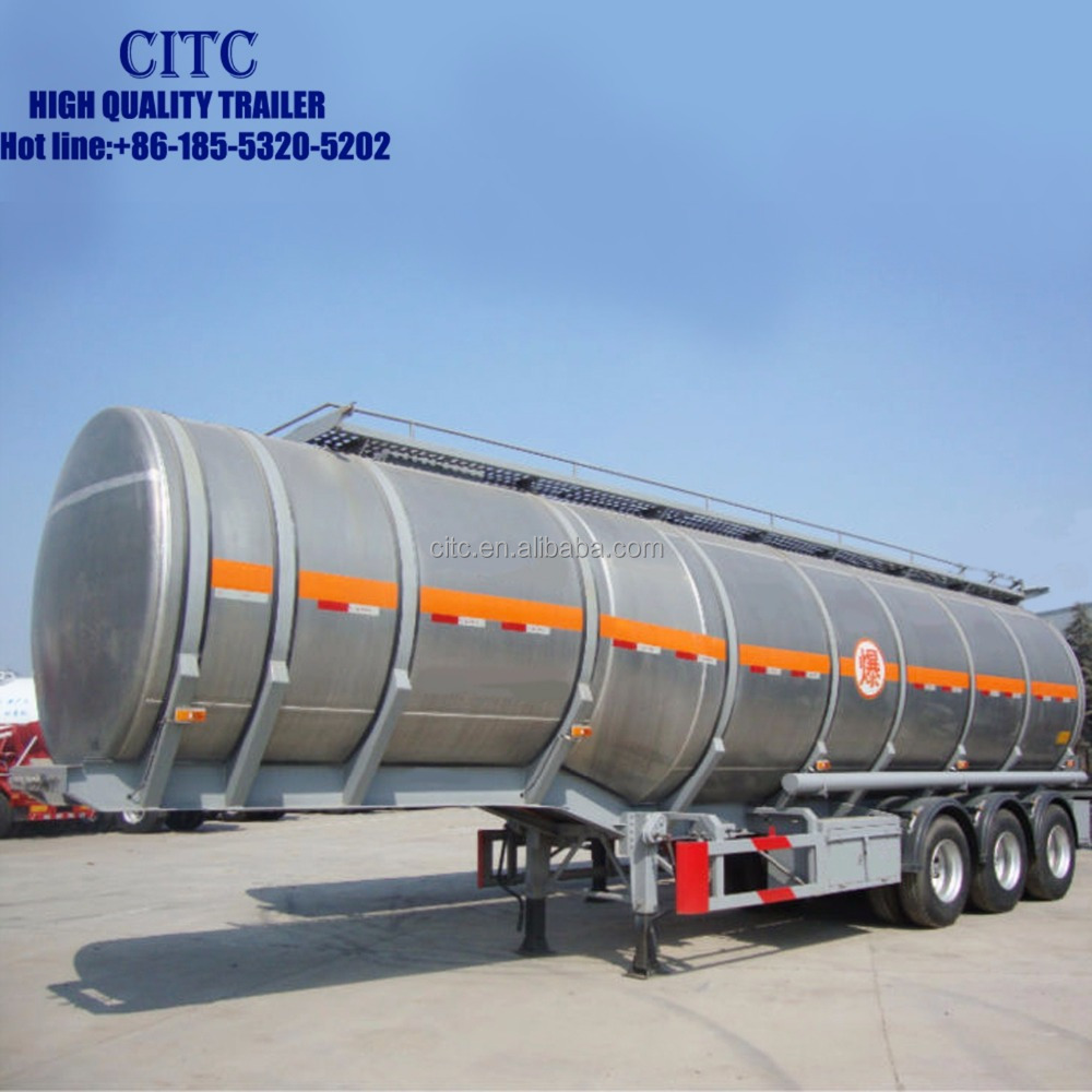 China hot sale quality tank semi trailer for sulfuric acid transportation