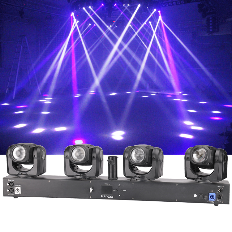 Pro Dj Disco Stage Effect Light 4 Head