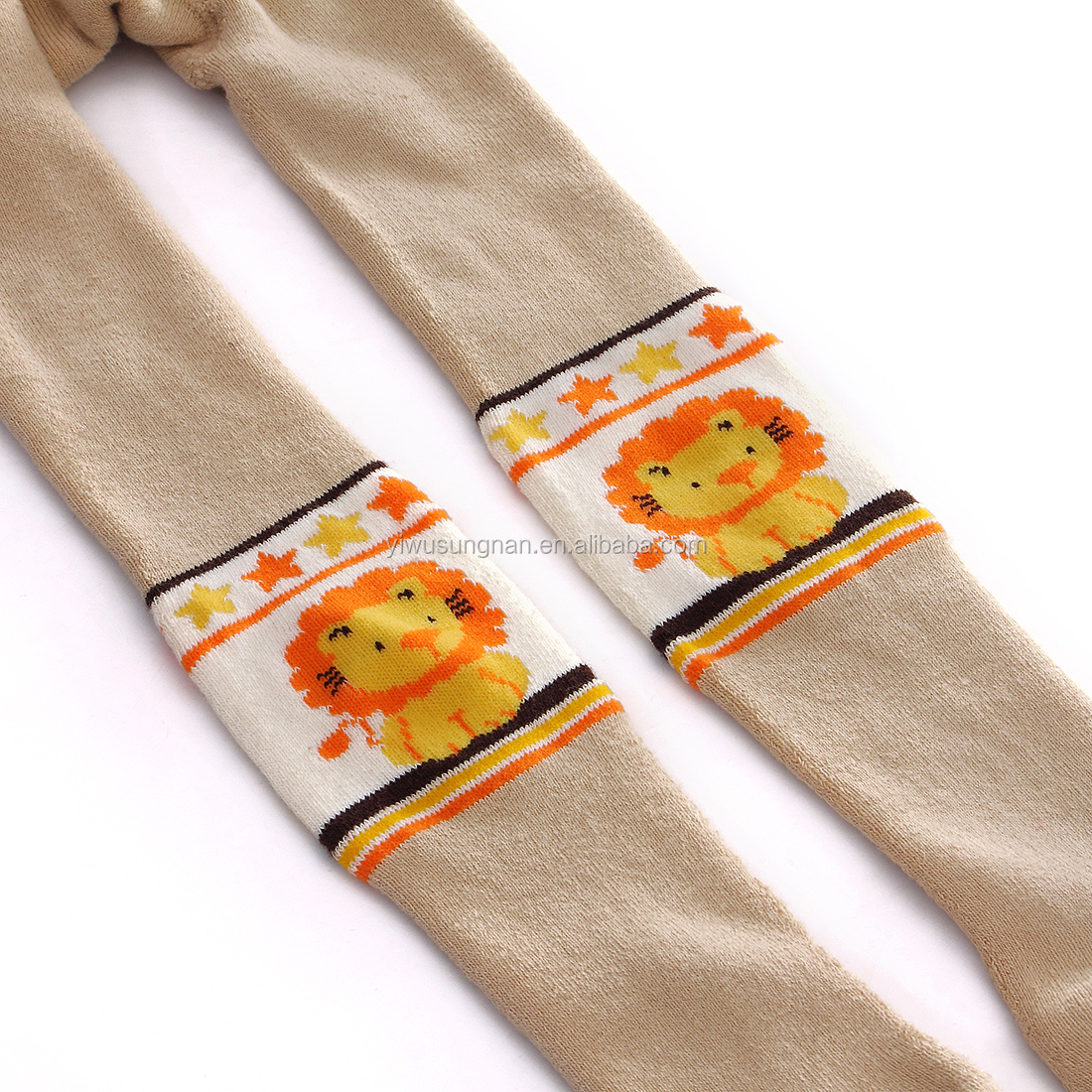 Thick terry loop hosiery baby boys and girls little children fabric textile pantyhose
