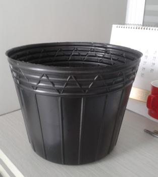 Disposable Pe Black Pots Plastic Flower Nursery Plant View Larger Image