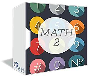 MATH 2nd GRADE Online Course w/ Teachers - Full Year – Accredited Online HomeSchooling Course - Christian HomeSchool Curriculum - 180 Daily Lessons - MultiMedia Rich - Private Christian School since 2001