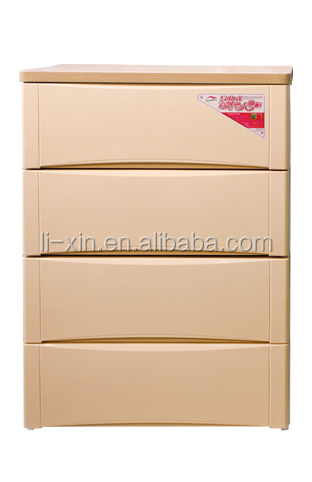 Storage cabinet, Plastic cabinet (Four Drawers)
