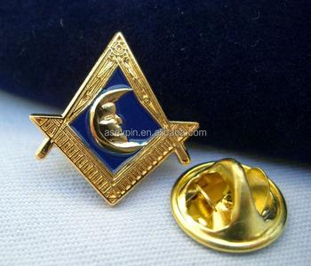 New Masonic Lodge Junior Deacon Moon Lapel Pin & Pouch - Buy 3d Gold Moon  Lodge Junior Pin Badge,Custom Junior Masonic Pin,Cheap Masonic Gift Pin