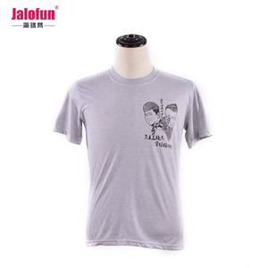 Alibaba In China Tshirt 50% Cotton 50% Polyester For Men , Polyester Tshirt Sport