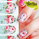 Factory Sale custom fashion design nail stickers for girls