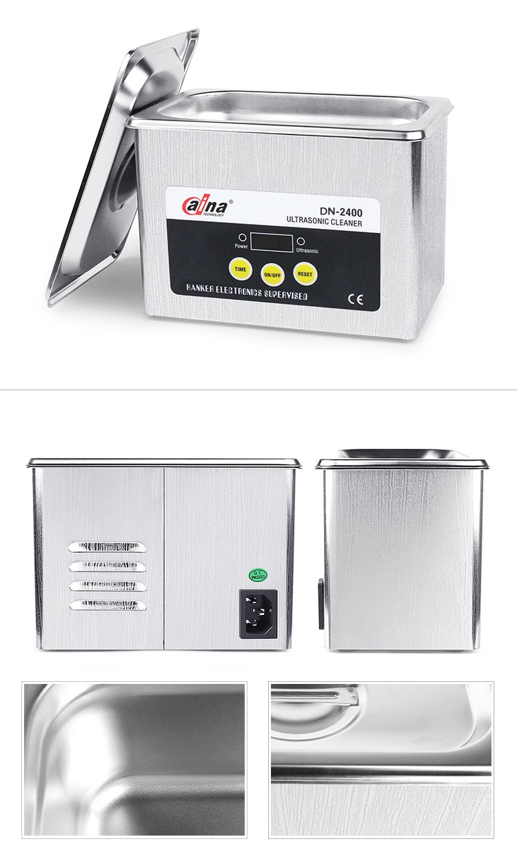 Wholesale Daina DN-2400 High Quality 0.8L LCD Mini Digital Display Electronic Industrial Record Ultrasonic Cleaner
