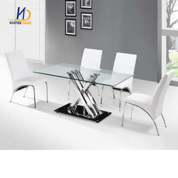 KINGNOD Modern Restaurant Formal Dining Room Dinner Table Set