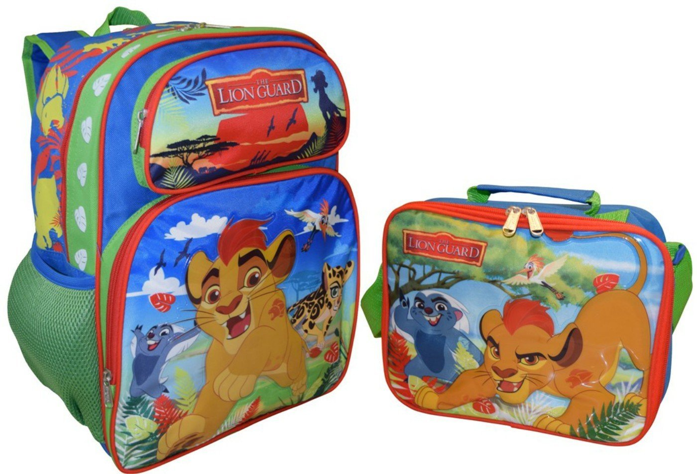 855a9d46f92 Buy Disney Lion Guard Backpack and Lunch Bag Combo Set in Cheap ...
